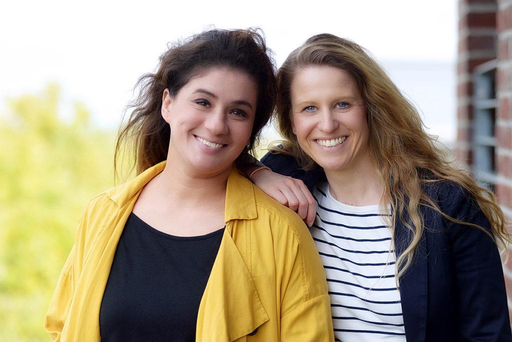 Heidi Schönenberg-Hausdorf und Daniela Sprung, Organisatorinen von ruhrBLOGs